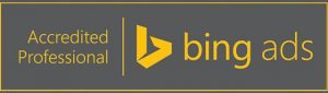 Bing Ads Accredited Professional Badge
